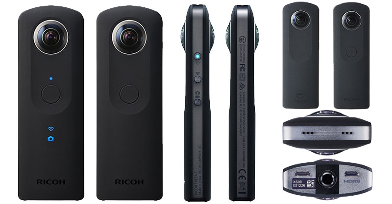 test et avis complet de la cam ra 360 ricoh theta s. Black Bedroom Furniture Sets. Home Design Ideas