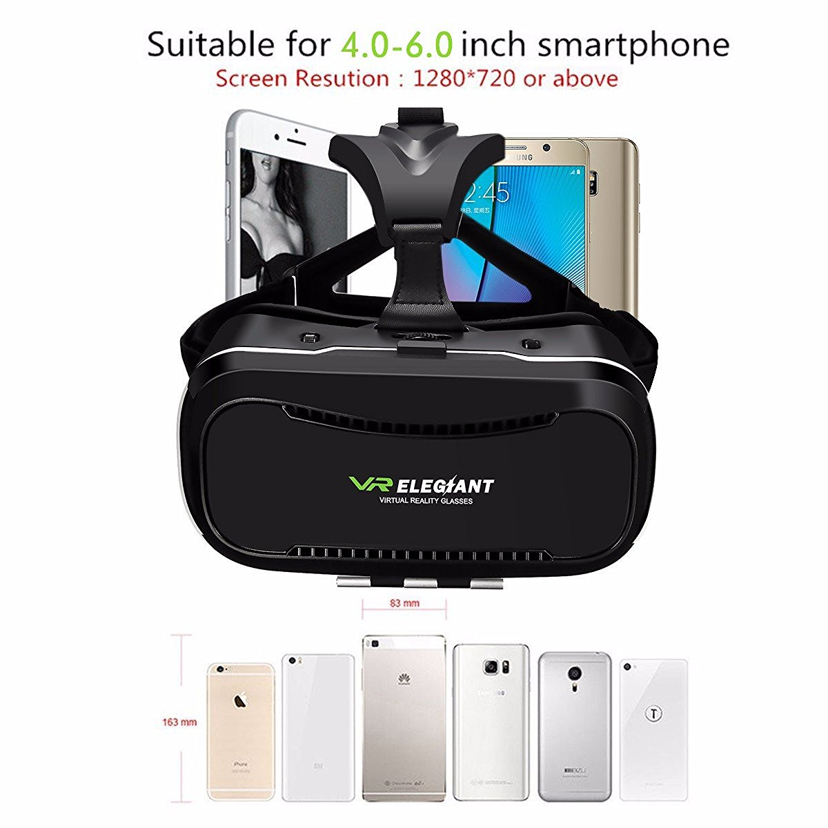 casque vr compatible smartphone