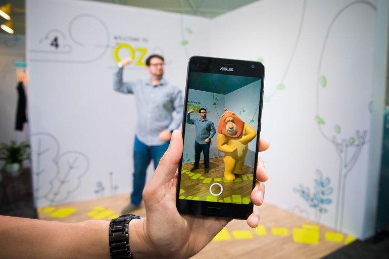 realite augmentee smartphone